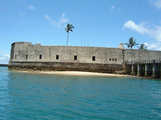 Sao Marcelo (do Mar) fort : El fuerte