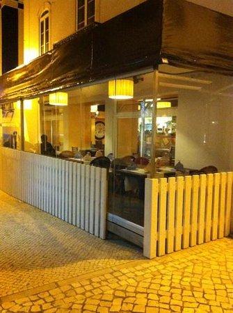 Restaurante Tik - Tak: Tik Tak com esplanada fechada