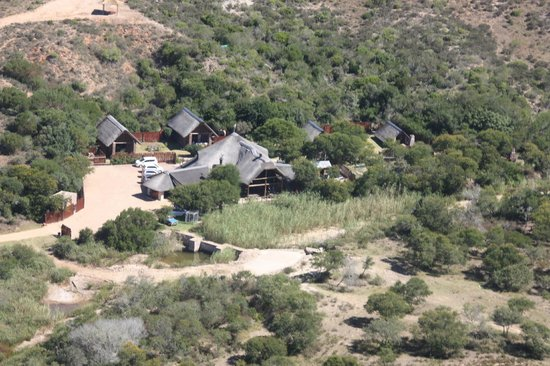 Nyaru Private Game Lodge:                   Central Lodge and Chalets at Nyaru