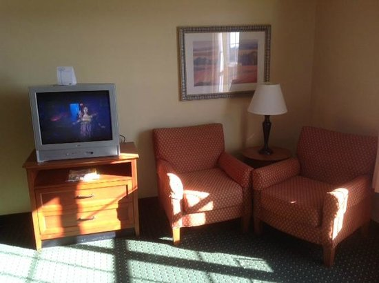 TownePlace Suites Fredericksburg:                   TV Area