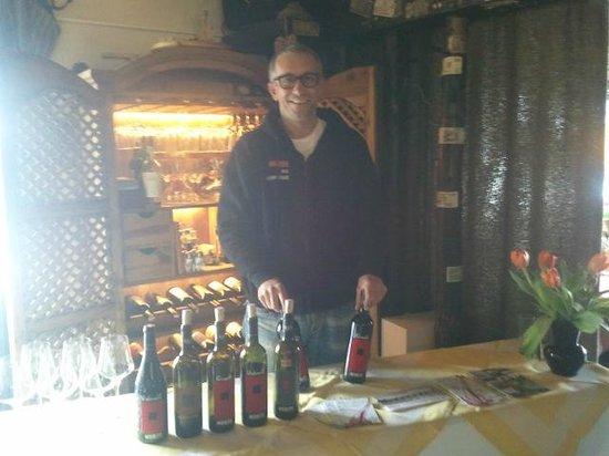 Berghotel Blaickner's Sonnalm:                                                       Alfred Moritz, Winemaker