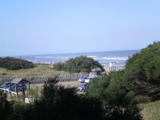 Ostende, Argentina:                   vista desde la habitación