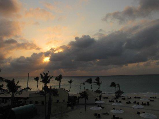 Bucuti & Tara Beach Resort Aruba:                   view from our 3rd flr Tara suite