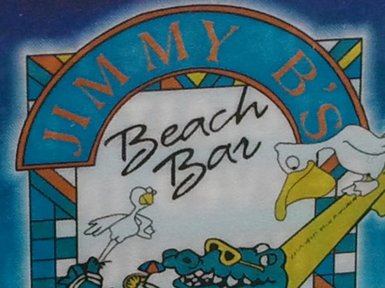 Jimmy B's Beach Bar:                   Jimmy B's