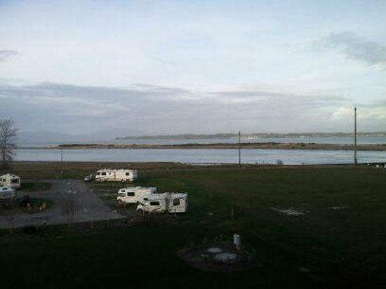 Swinomish Casino & Lodge:                   View From Room
