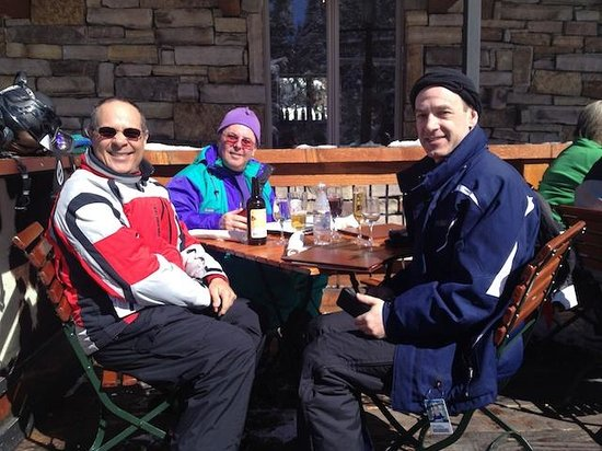 Alpino Vino:                   Leisurely lunch