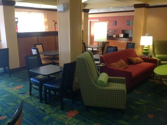 Fairfield Inn & Suites High Point Archdale:                                     Lobby