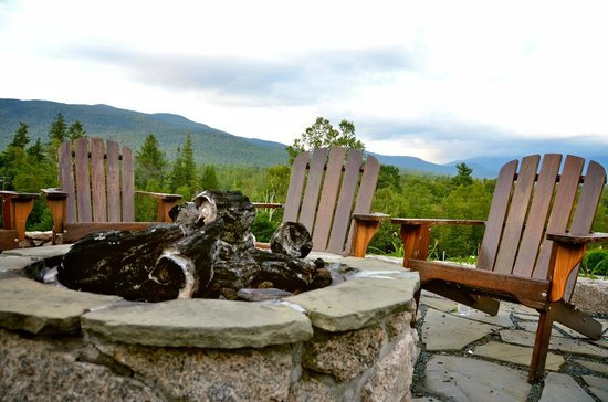 Omni Mount Washington Resort:                   Fire Pit