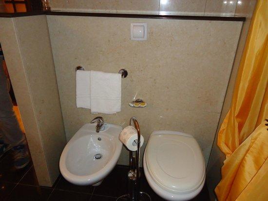Hotel Castle:                   Suite-Bagno
