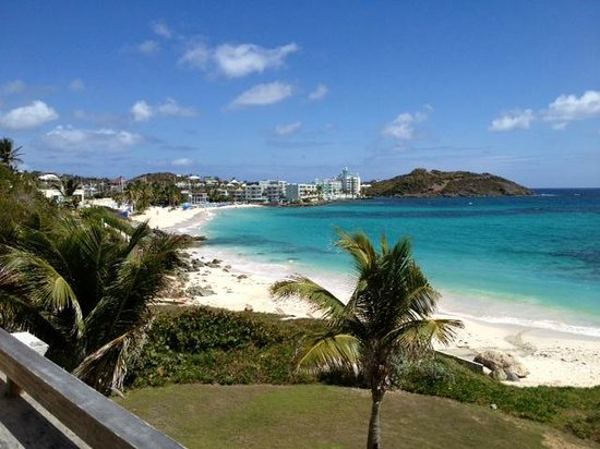 The Westin Dawn Beach Resort & Spa, St. Maarten:                   View from Room 3194