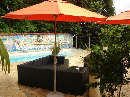 Casa Cool Beans B&B:                   Pool area