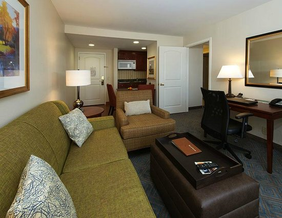 Homewood Suites by Hilton Knoxville West at Turkey Creek: One Bedroom Suite Living Area