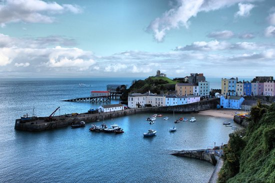 The Park Hotel Tenby:                   Tenby Harbour