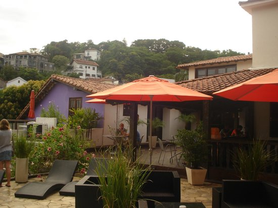 Casa Cool Beans B&B:                   Rooftops and part of breakfast area