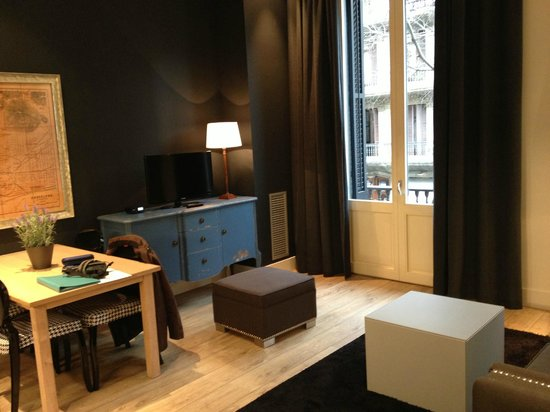 Angla Luxury Apartments - Passeig de Gràcia:                   Séjour
