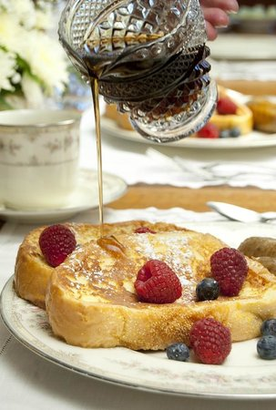 Scofield House Bed and Breakfast: French Toast