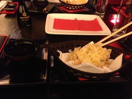Kyoto Restaurant:                   tempura vegetables