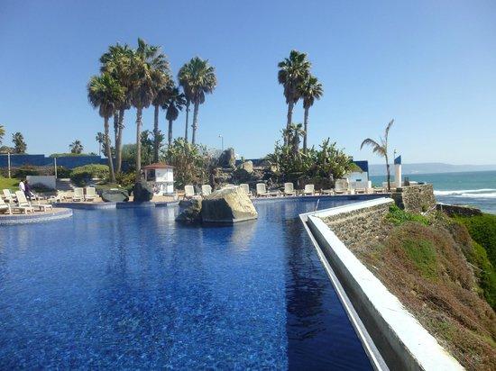 Las Rocas Resort & Spa:                   One of the pools