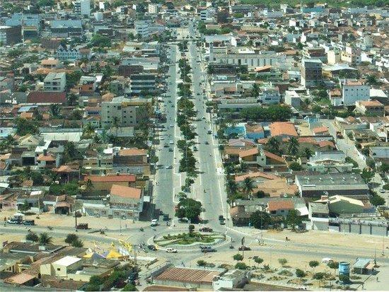 Santa Cruz do Capibaribe, PE: Vista da cidade