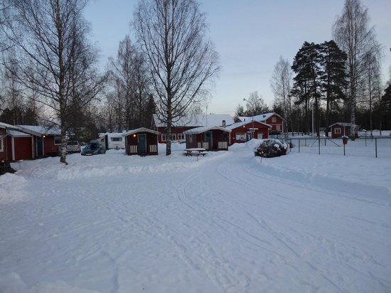 Februar 2013, et kig ud over Camping 45.