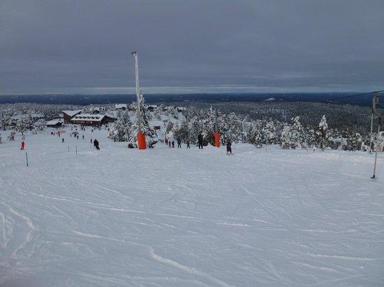 Camping 45:                   Februar 2013, det smukke ski/naturområde, Hovfjället.
