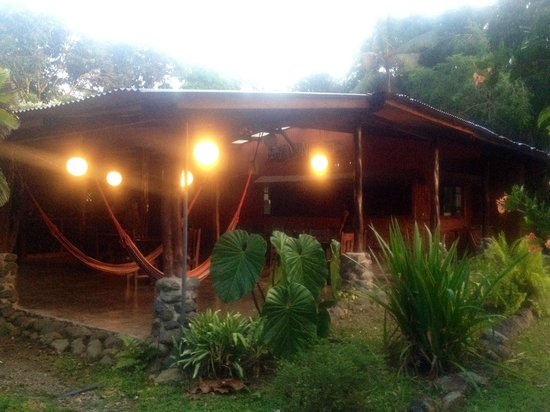 Los Mineros Guesthouse:                                     view of the historic main building/ outdoors hangout area