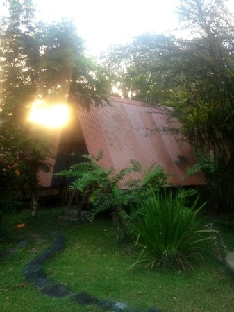 Los Mineros Guesthouse:                                     the cabin we stayed in