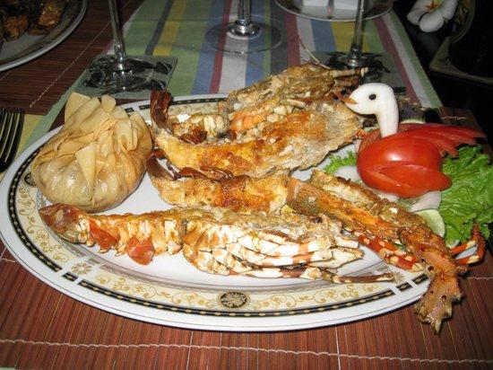 Shangri-Lanka Villa: Amazing lobster!