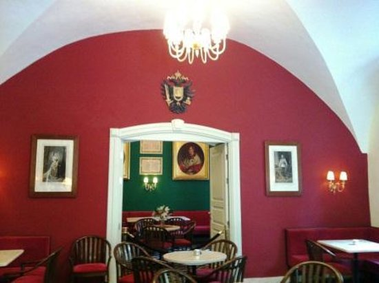 Austrian Hospice : The restaurant with pictures of the Kaiser Franz Josef and his wife Elizabeth