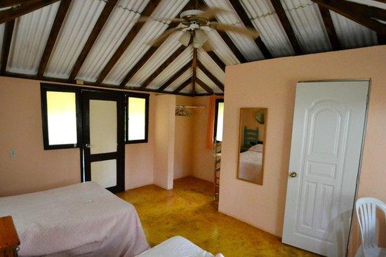 Hotel el Marinique :                                     inside cottage