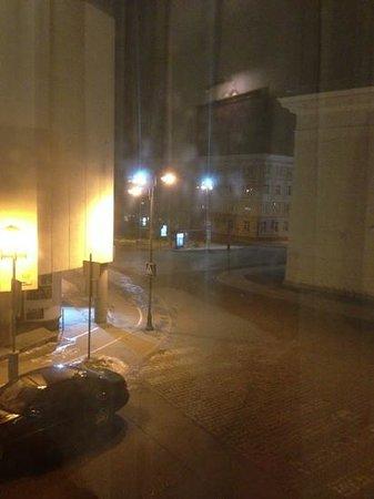 Radisson Blu Royal Astorija Hotel, Vilnius: view from room window