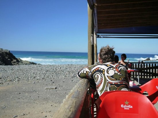 Casa Pon:                                     view from the Cafe at the edge of the world