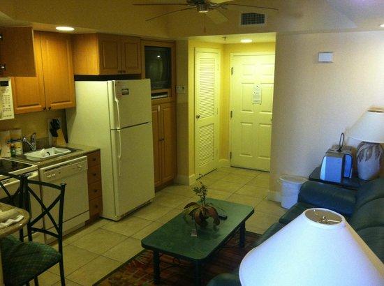 Westgate Vacation Villas Resort & Spa:                   kitchen/ living room