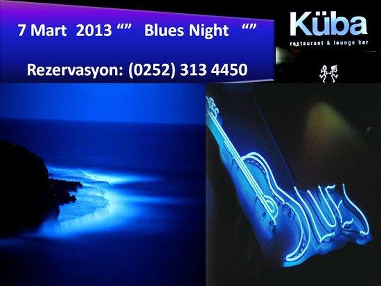 Küba Bar: küba blues night