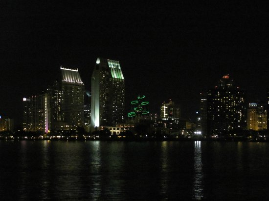 San Diego Skyline from Coronado at Il Fornaio