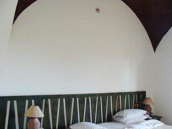 Blue Lagoon Marsa Alam:                                                       stanza con il soffitto a volta  fatto di m