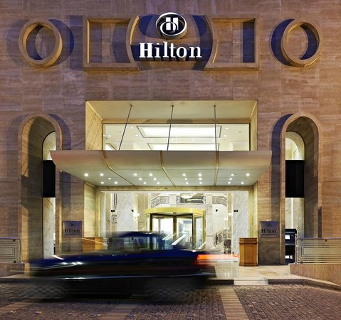 Hilton Cairo Zamalek Residences: Hotel Entrance