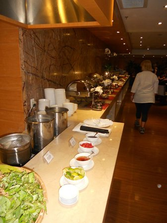 Paragon Saigon Hotel : a colazione