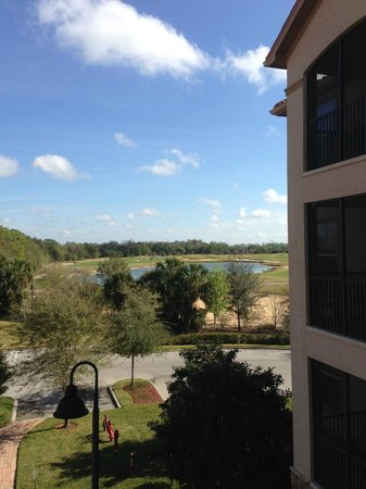 Tuscana Resort Orlando by Aston:                   View of the Champions Gate Golf course from our condo