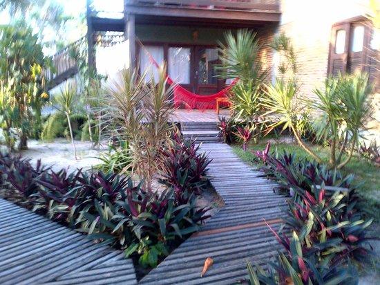 Pousada Vila Bela Vista:                   LA entrada de la habitación                 
