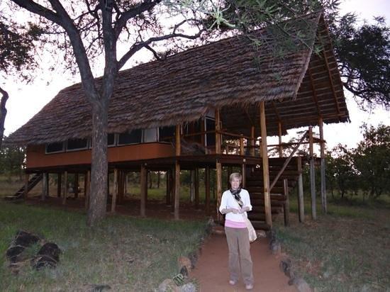 Kikoti Safari Camp:                   lodge 18