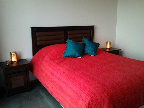 Quintay, Чили: habitacion matrimonia, todas con vista al mar