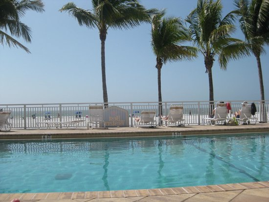 Best Western Plus Beach Resort:                   sitting at the pool
