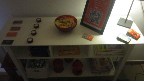 CasaNova Guest House:                   Free candies. Yay!