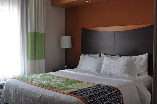 Fairfield Inn & Suites Kansas City Overland Park: Suite
