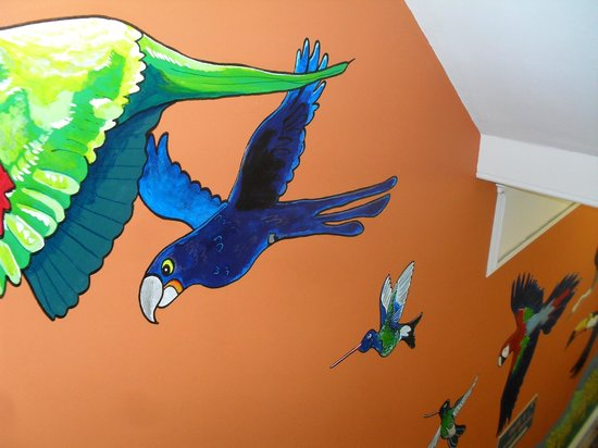 The Toucan Cafe:                   The stairwell