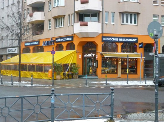 Amrit Restaurant : Corner position
