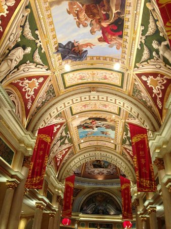 Check out the ceilings!!! Amazing