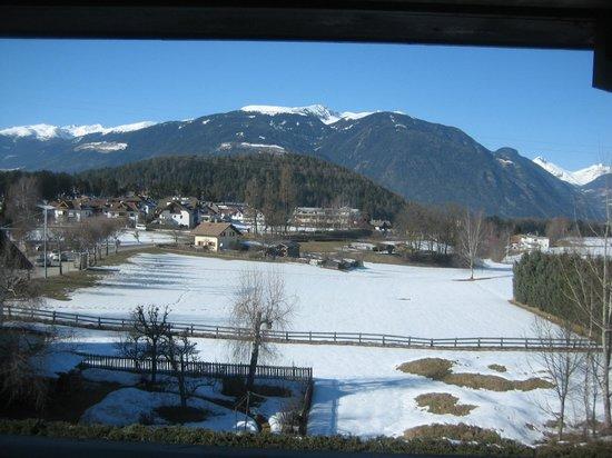 Rubner's Hotel Rudolf:                   Vista dalla stanza