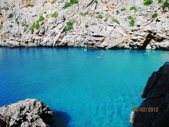 Escorca, Spain: aguas turquesas